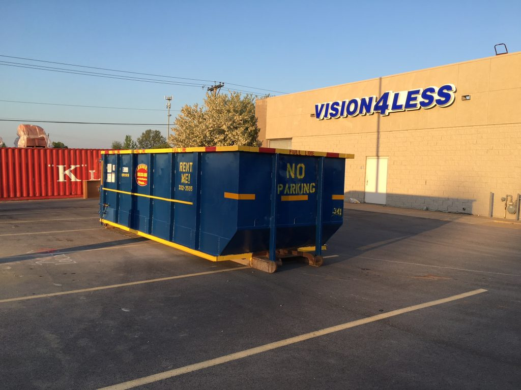 30 Cubic Yard Dumpster-Colorado's Premier Dumpster Rental Services