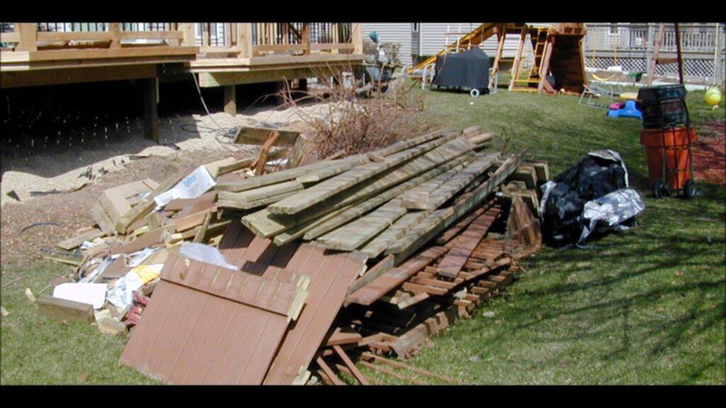 Deck Removal Dumpster Services-Colorado's Premier Dumpster Rental Services