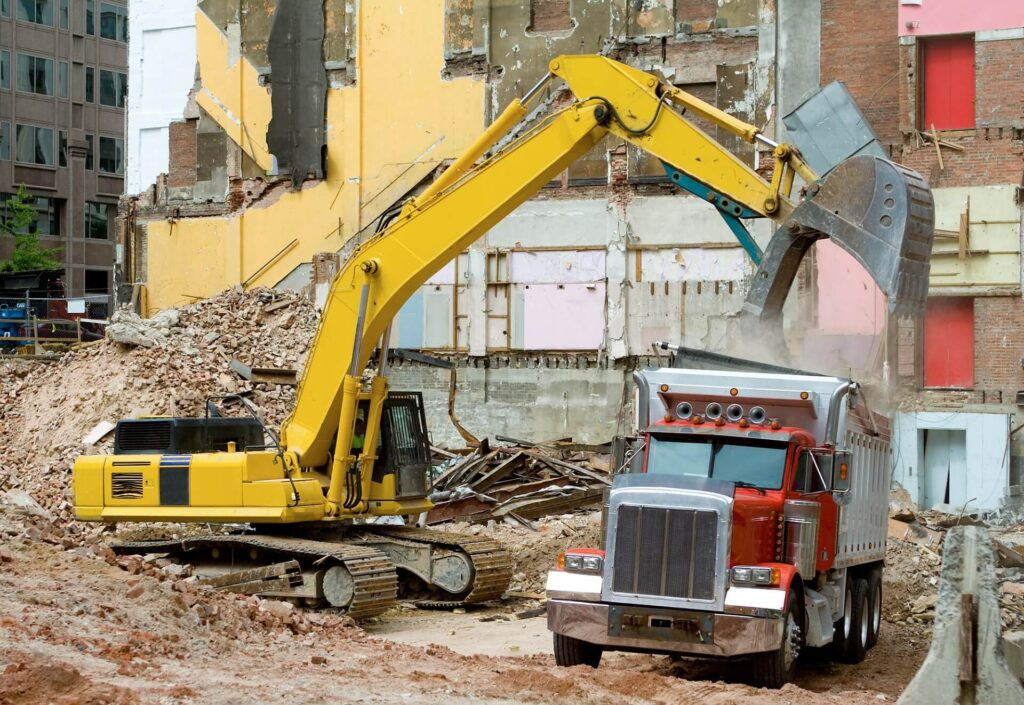 Structural Demolition Dumpster Services-Colorado's Premier Dumpster Rental Services