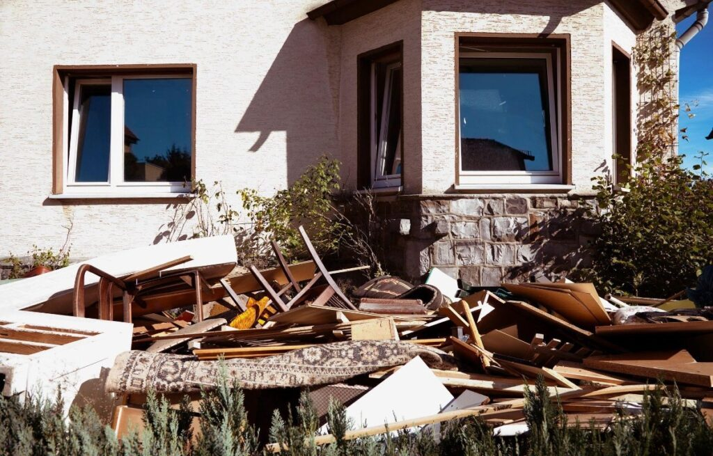 Window and Siding Removal Dumpster Services-Colorado's Premier Dumpster Rental Services